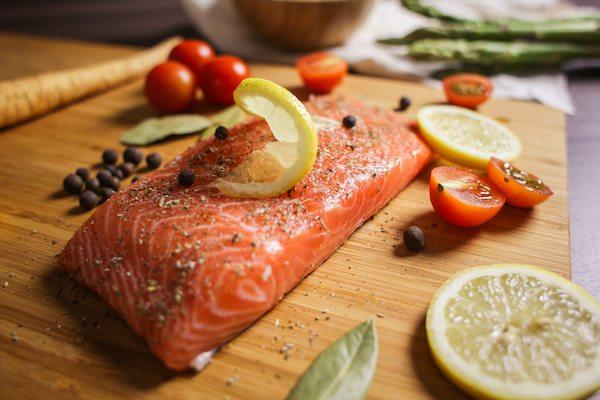 Low FODMAP salmon recipe