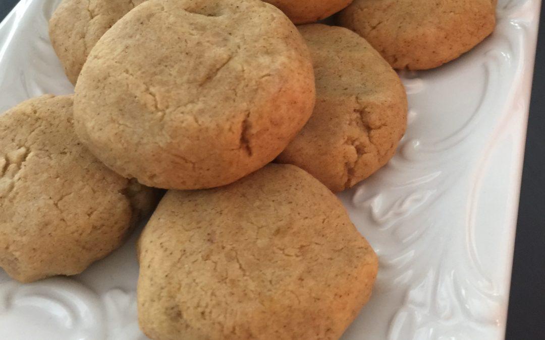 Low FODMAP Maple Pumpkin Cookies